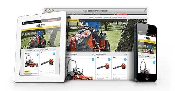 Husqvarna Dealership Website